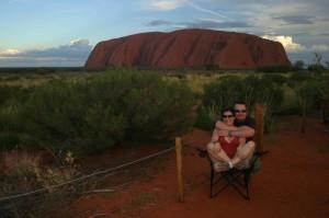 My dva a Uluru