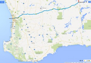 Perth to Kalgoorlie