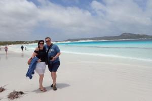 Nejbelejsi plaz v Australii - Lucky Bay
