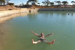 Slane jezero